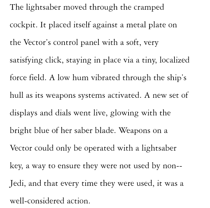 The first 8 chapters of Light of the Jedi are available online to read Captur19