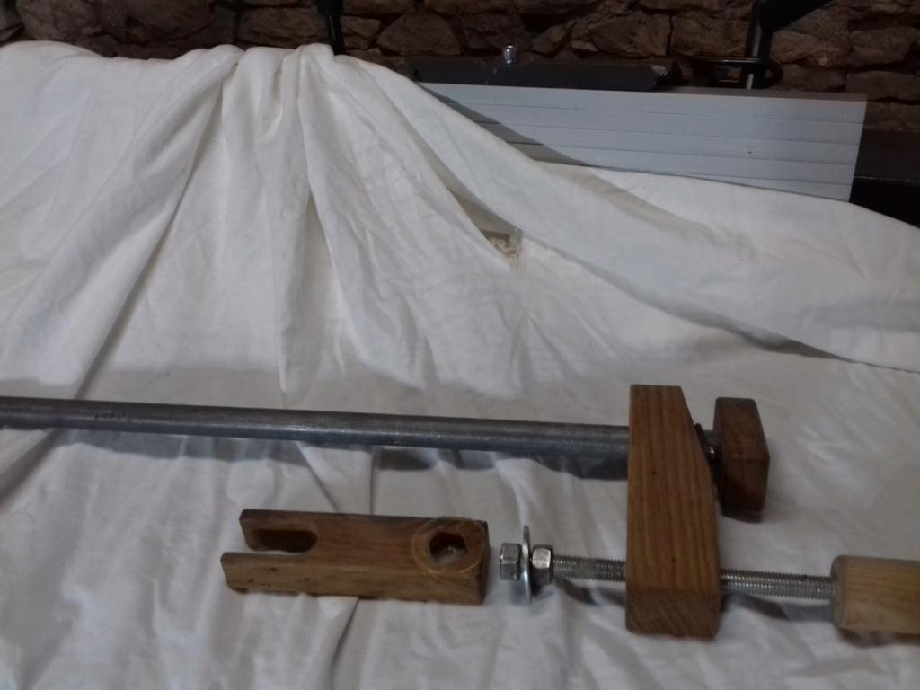 Réparation collage bois métal 20200611