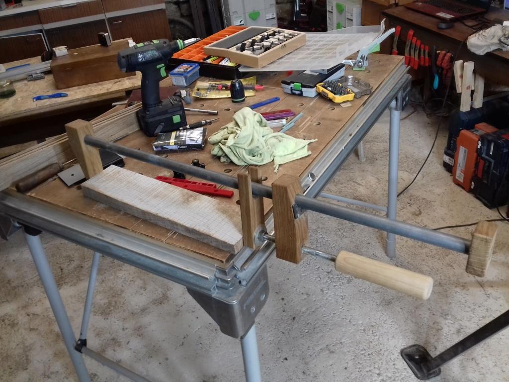 Réparation collage bois métal 20200612