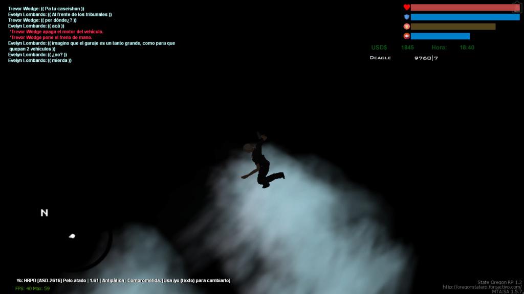 Pérdida de armas por caída del servidor. Mta-sc10
