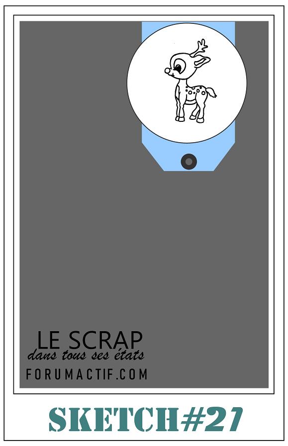 "sketch n°21 ""Noël approche"" Sketch76"