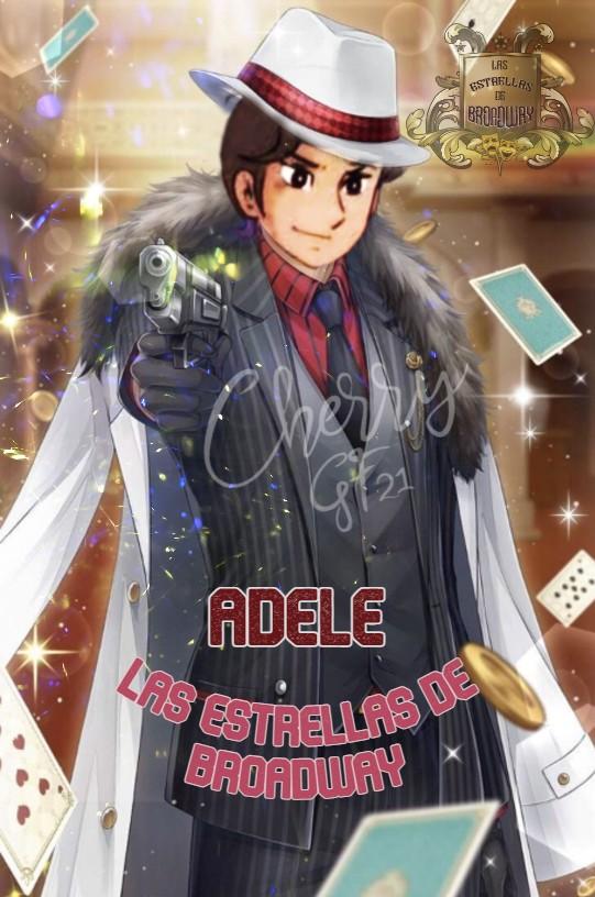 """Las Estrellas de Broadway entregando firma """"Me Encanta tu Revolver""""  Adele10"""