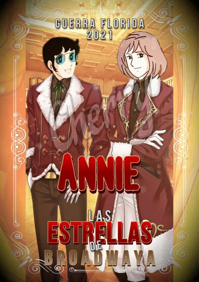 +++ENTREGA DE FIRMA DE LOS HERMANOS CORWELL DE LAS ESTRELLAS DE BROADWAY+++ Annie10