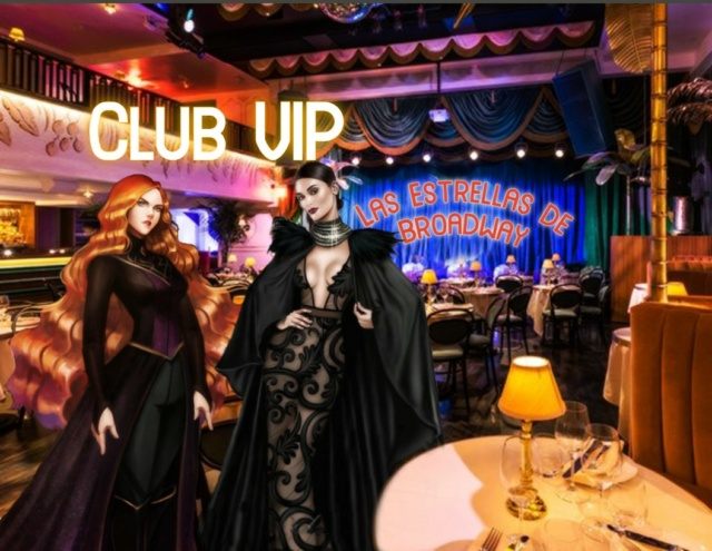 """++¡¡~Actuación Estelar de la Gran Artista Dione Kracht y Terry en el selecto """"CLUB DE LAS ESTRELLAS DE BROADWAY""""~!!++ Base_115"""