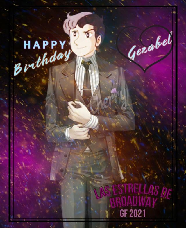 """Granada Radiactiva de """"Las Estrellas de Broadway"""" por el cumpleaños de la jefa ¡Feliz Cumpleaños Gezabel! Hbdgez10"""