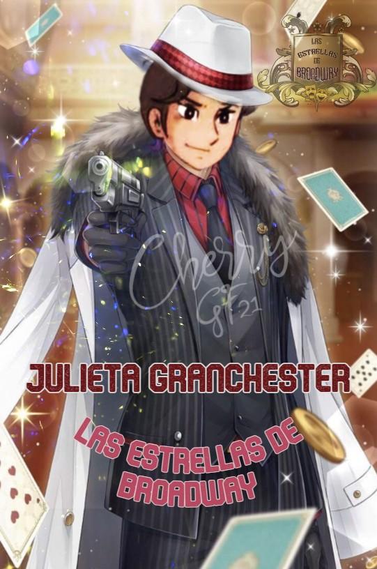 """Las Estrellas de Broadway entregando firma """"Me Encanta tu Revolver""""  Juliet10"""