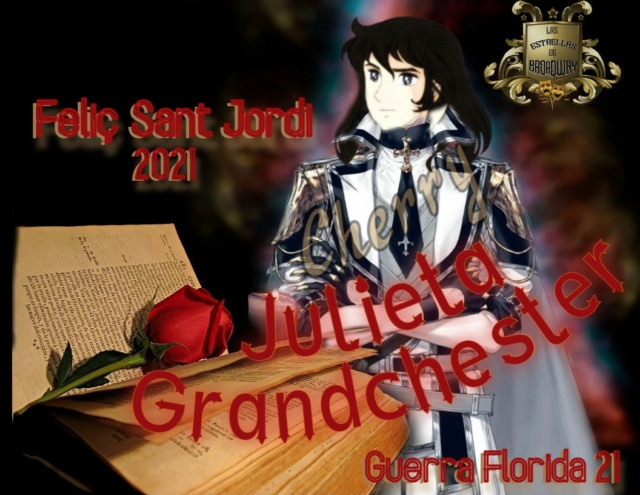 ¡Entrega de Regalo de Sant Jordi! Juliet12