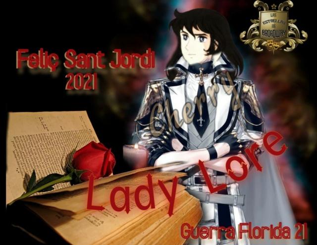¡Entrega de Regalo de Sant Jordi! Lady11