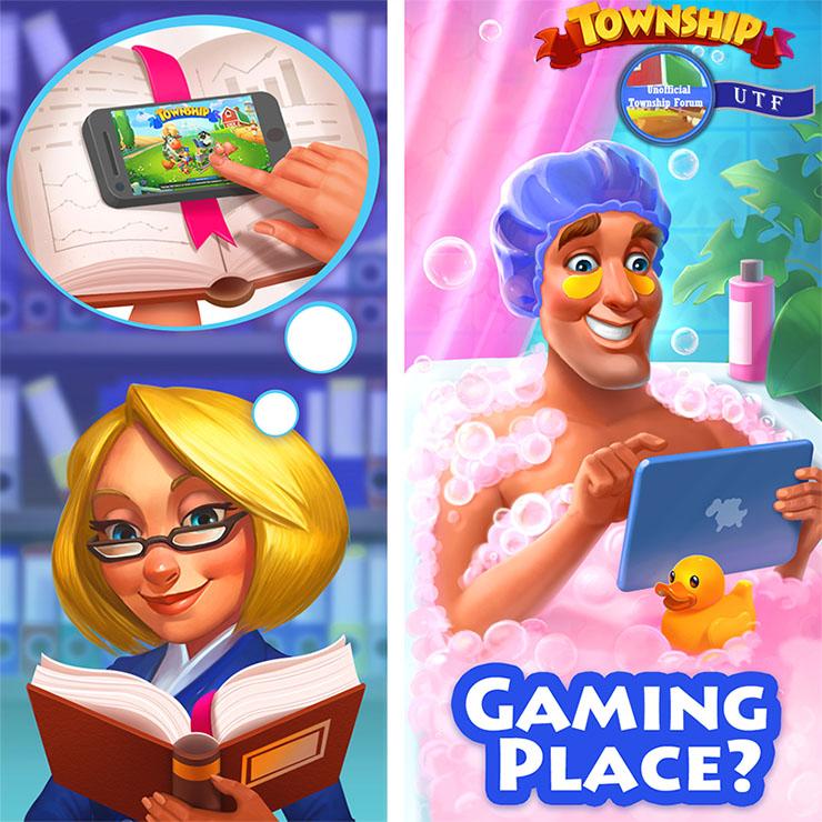 Where do you play Township? Where_10