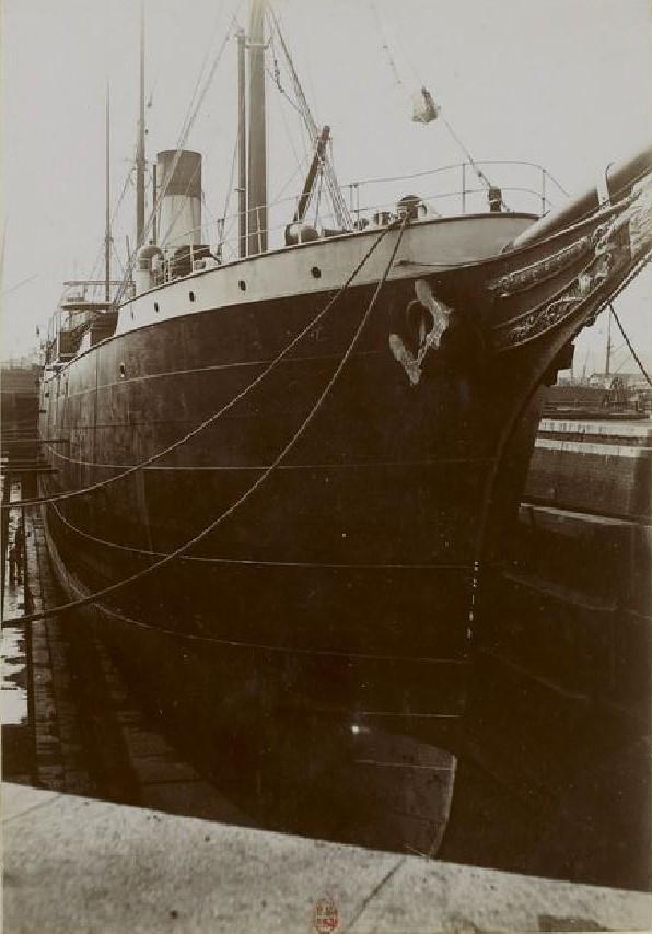 La Touraine, fidèle serviteur de la ligne de New York Navire10
