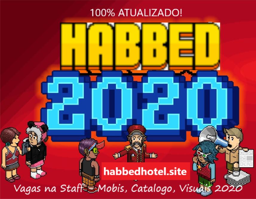 HABBED HOTEL! 24HRS, MOBIS, VISUAIS ATUALIZADOS, VAGAS NA STAFF Banner12