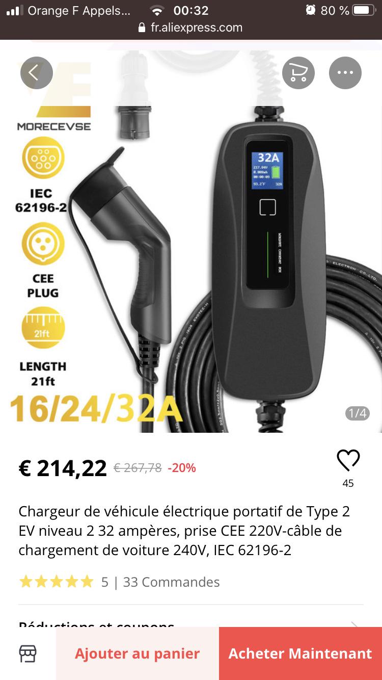 Protection tableau électrique pour borne 7 kW  Fe0ee210