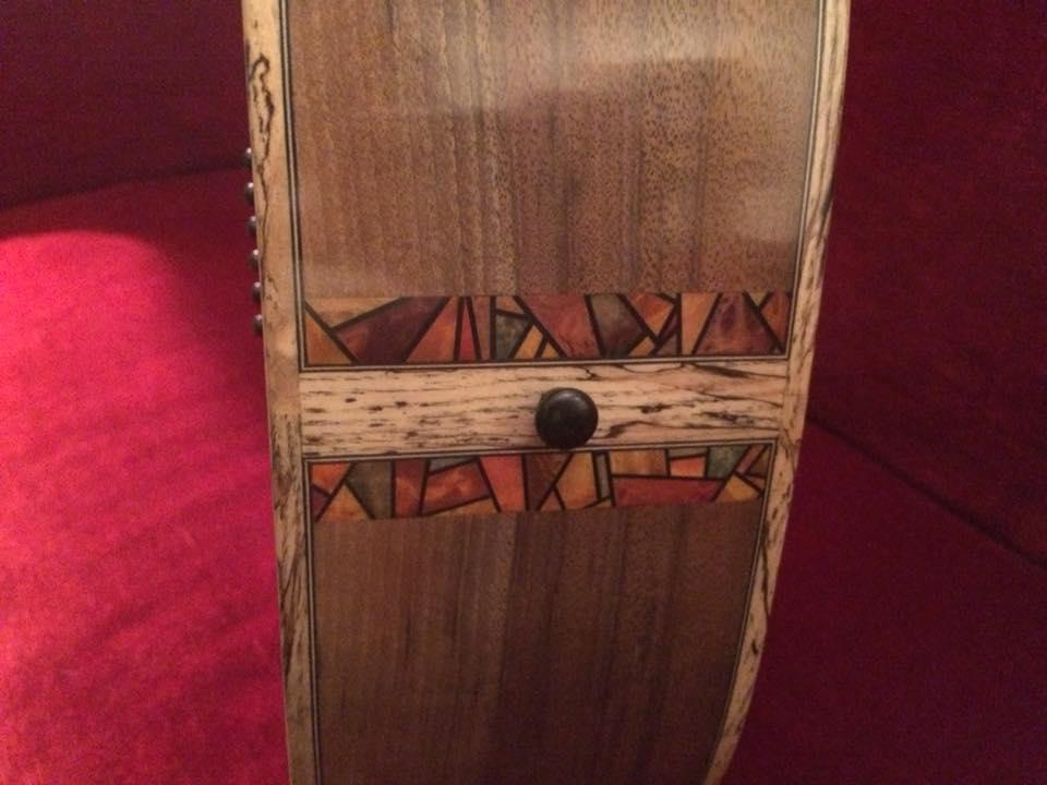 Om Noyer/Cédre Jaune du luthier Sébastien Francisco 26047311