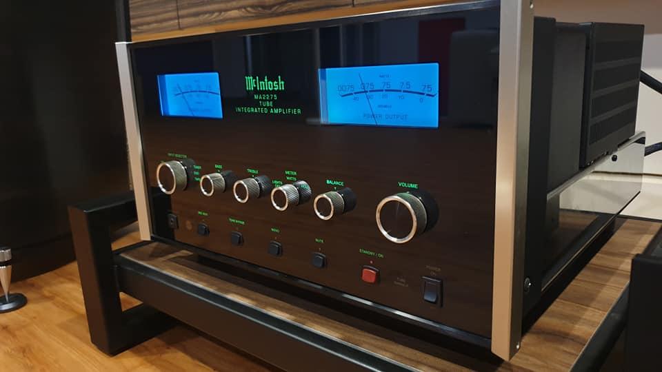Mcintosh MA2275 Tube Integrated Amp 114