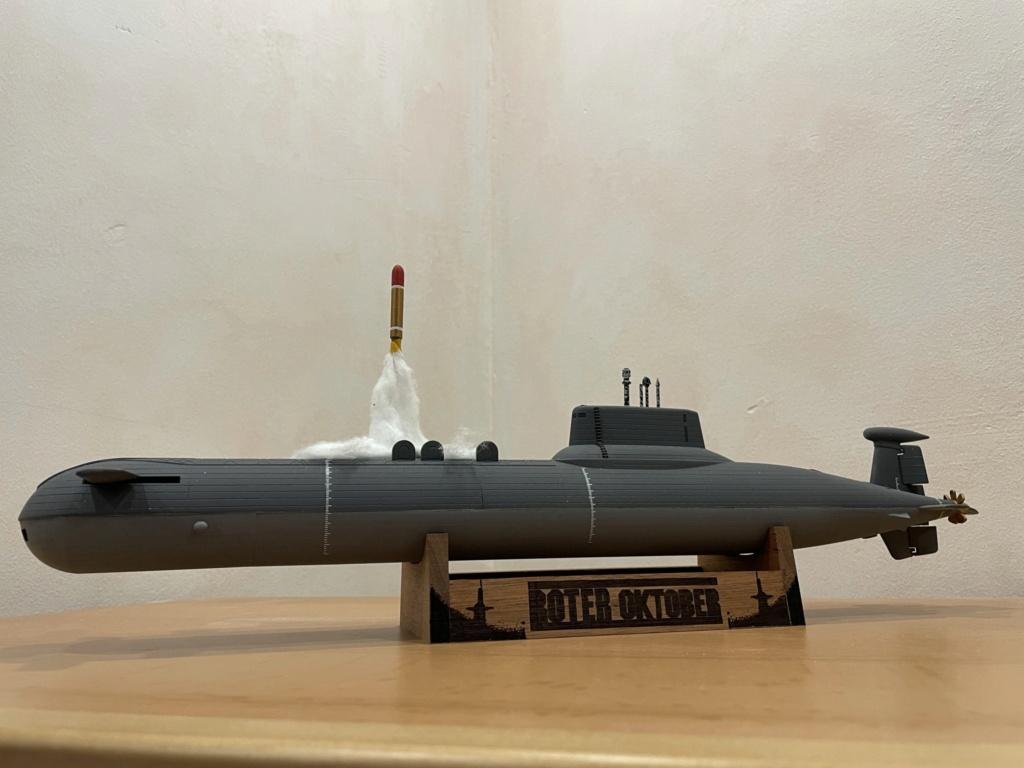 "Typhoon Class U-Boot - Umbau auf ""Roter Oktober"" / Revell, 1:400 1f24d810"