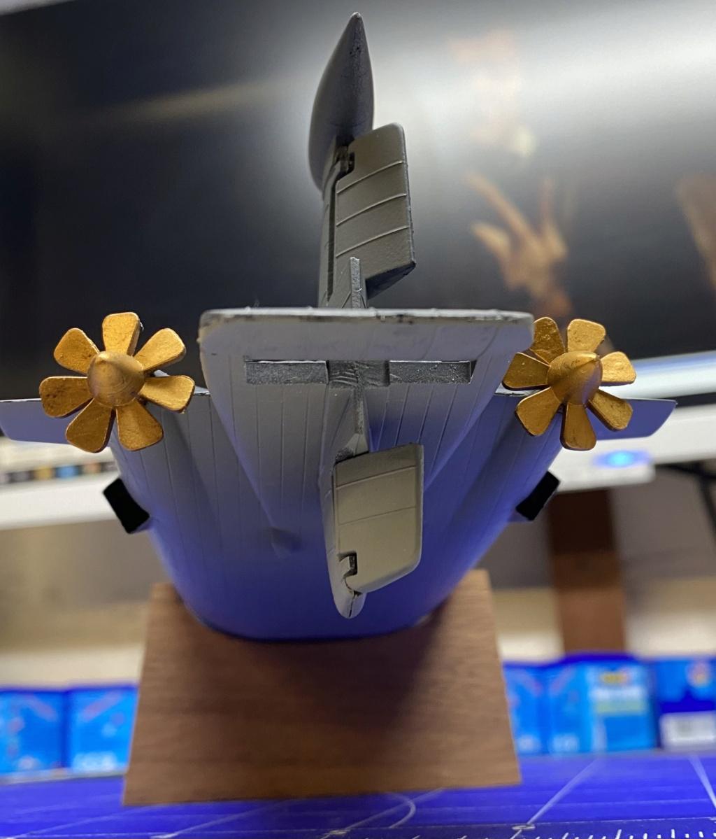 "Typhoon Class U-Boot - Umbau auf ""Roter Oktober"" / Revell, 1:400 477d0110"