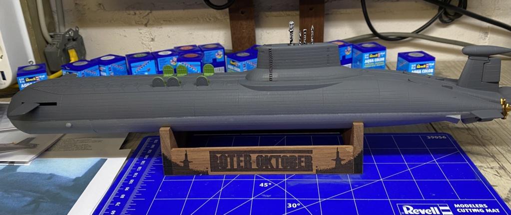 "Typhoon Class U-Boot - Umbau auf ""Roter Oktober"" / Revell, 1:400 E3156110"