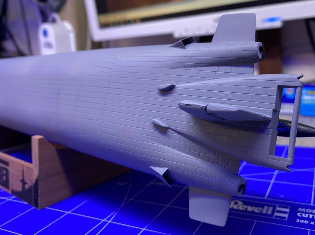 "Typhoon Class U-Boot - Umbau auf ""Roter Oktober"" / Revell, 1:400 Img_6412"