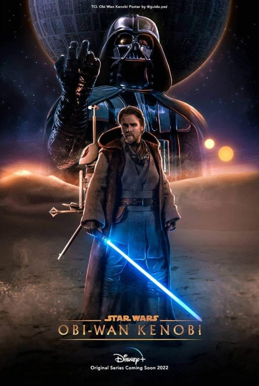Star Wars Obi Wan Kenobi : Trailer Poster Vidéo FanMade Poster10