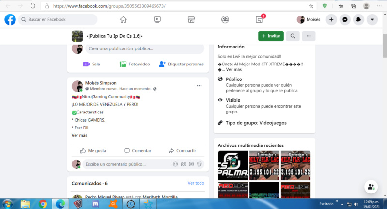 Spams tercer día: Möîšéš.ëxê Screen42
