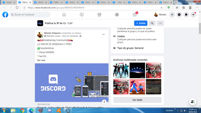 Spam #MoiséSSSS. Screen53