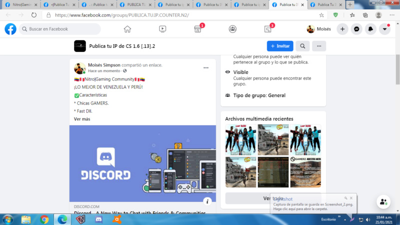 Spam #MoiséSSSS. Screen64