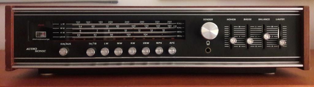 Identificação de modelo de Tuner & amplificador Audio Sonic 20210512