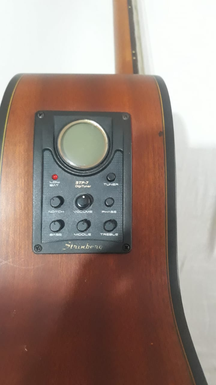 Contrabaixo Strinberg BA450 4 cordas (baixolão elétrico) - R$900 22a97210