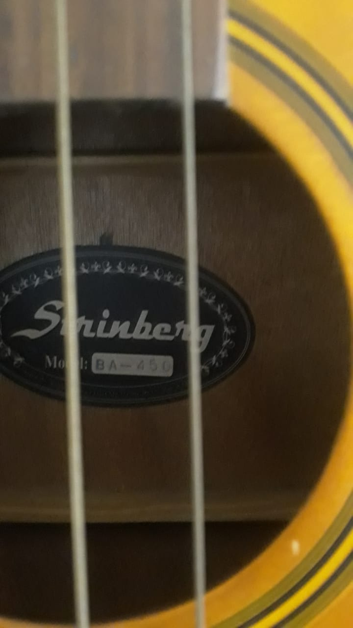 Contrabaixo Strinberg BA450 4 cordas (baixolão elétrico) - R$900 3b800310