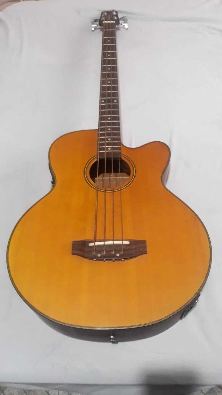 Contrabaixo Strinberg BA450 4 cordas (baixolão elétrico) - R$900 Aa13e010
