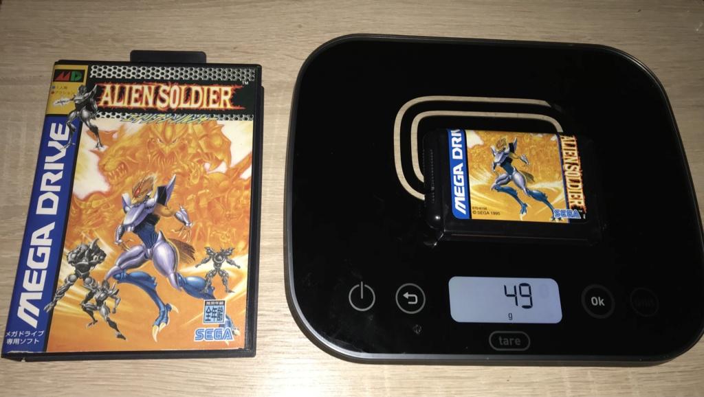 (MD) Astuce pour reconnaitre une copie d'un jeu authentique megadrive jap ! B2243510