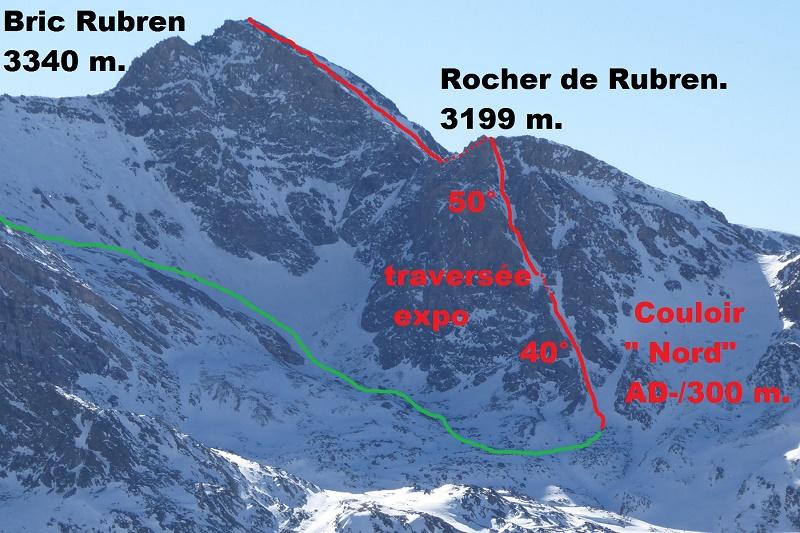 Bric de Rubren couloir Nord Bric_r10