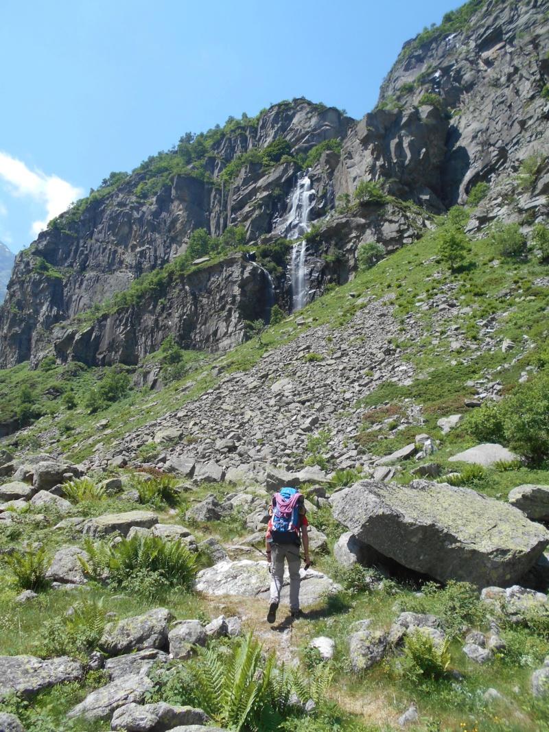 superbe voie Glacière en Italie Ciamar12