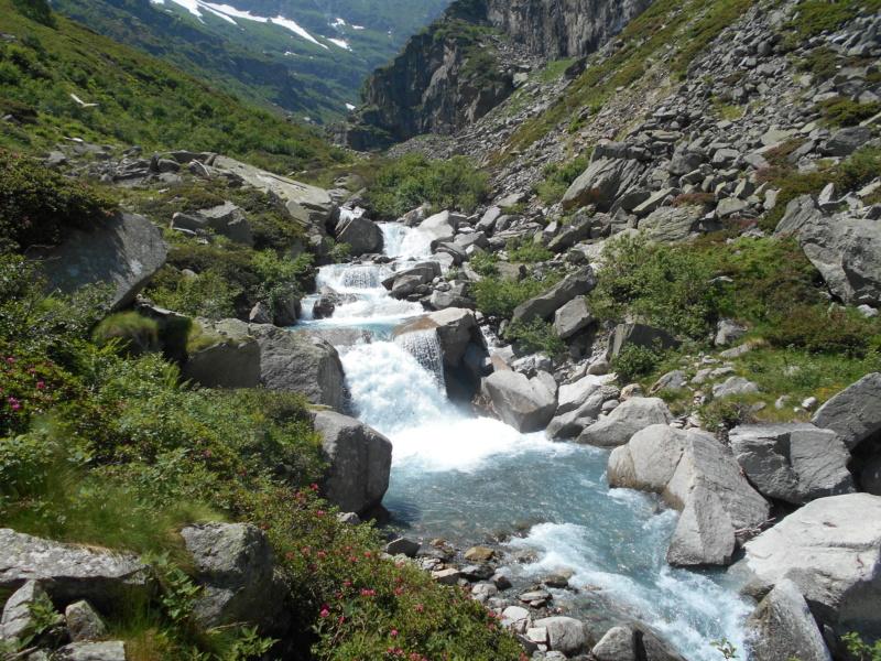 superbe voie Glacière en Italie Ciamar13