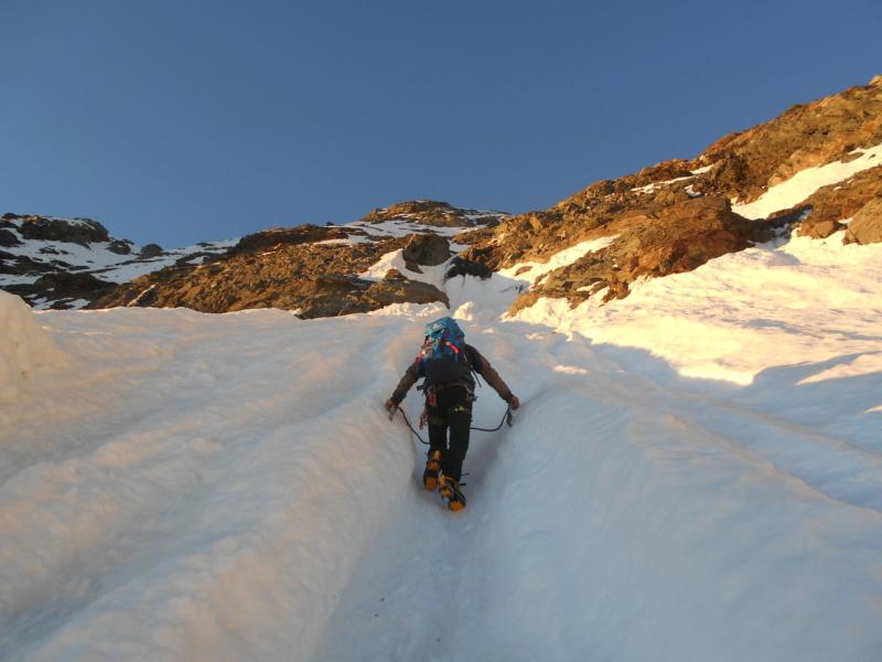 superbe voie Glacière en Italie Ciamar18