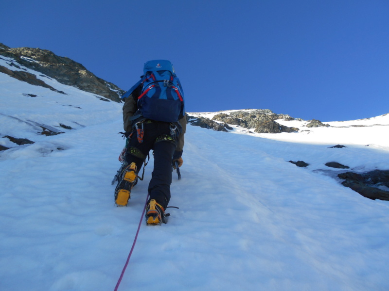 superbe voie Glacière en Italie Ciamar19