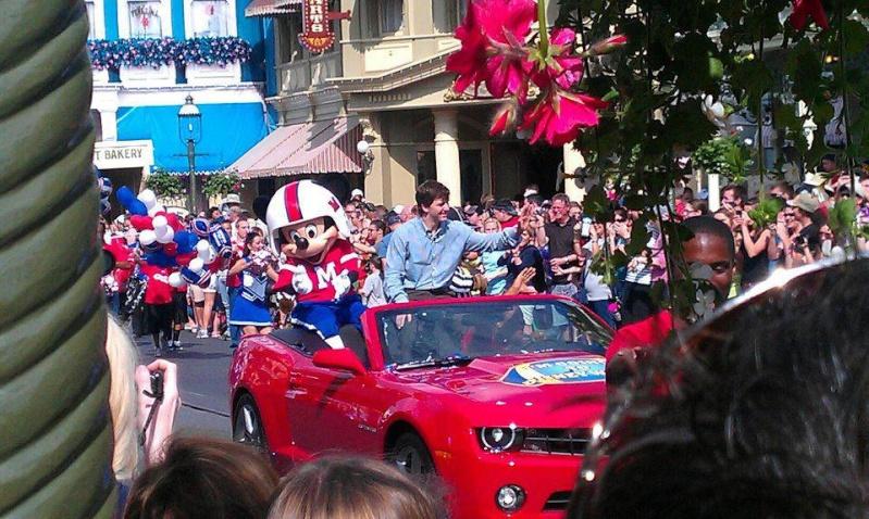 Les peoples, stars, célébrités en visite à Walt Disney World et Disneyland. 42198110