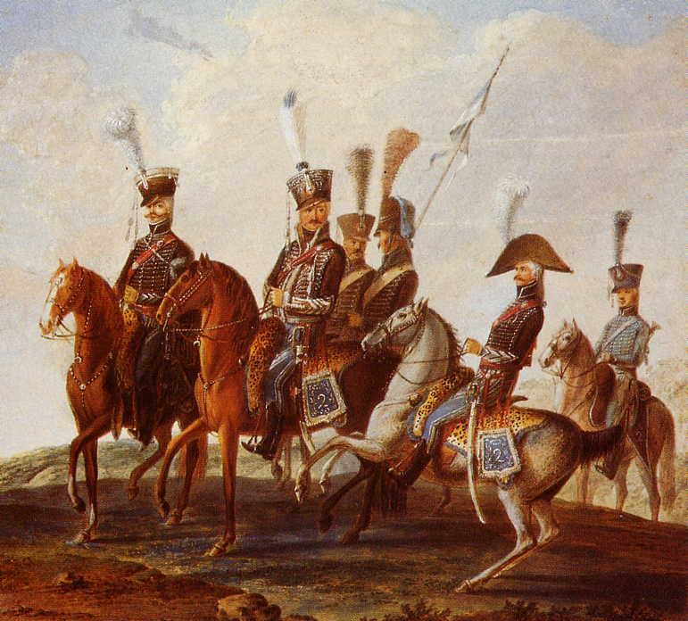 Robert Gaspard Nicolas Custine, major du 8ème hussards - Page 2 2-huss10