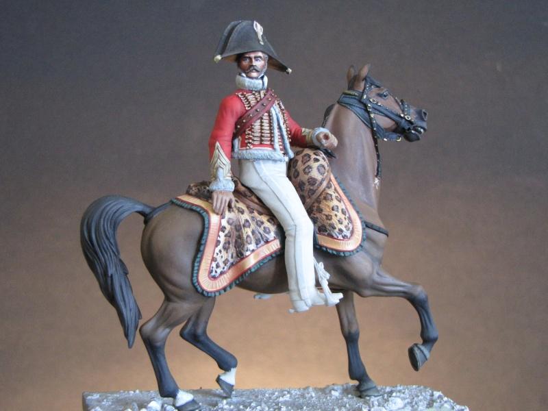 Capitaine chasseurs à cheval de la garde. Métal Modèles Chasse10