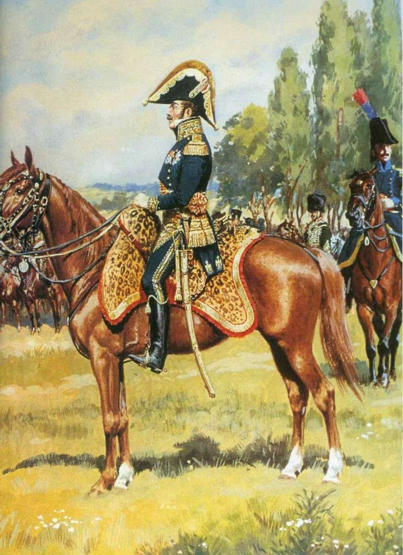 Robert Gaspard Nicolas Custine, major du 8ème hussards Ganara10