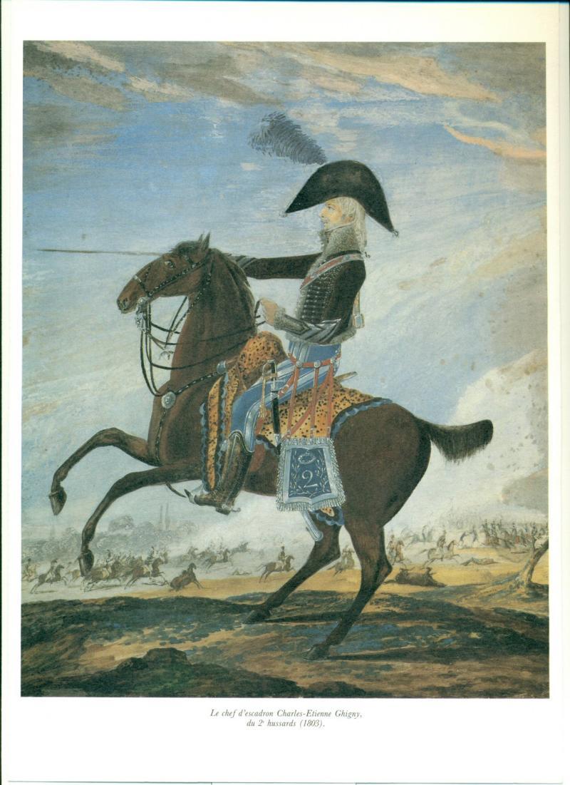 Robert Gaspard Nicolas Custine, major du 8ème hussards - Page 2 Ghigny10