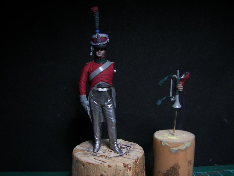 Trompette 12 ème chasseurs - Modif Métal Modèle Janvie15