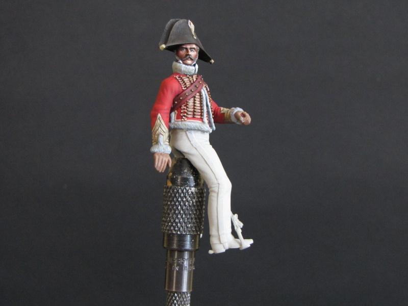 Capitaine chasseurs à cheval de la garde. Métal Modèles Janvie25