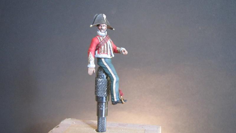 Capitaine chasseurs à cheval de la garde. Métal Modèles Janvie26