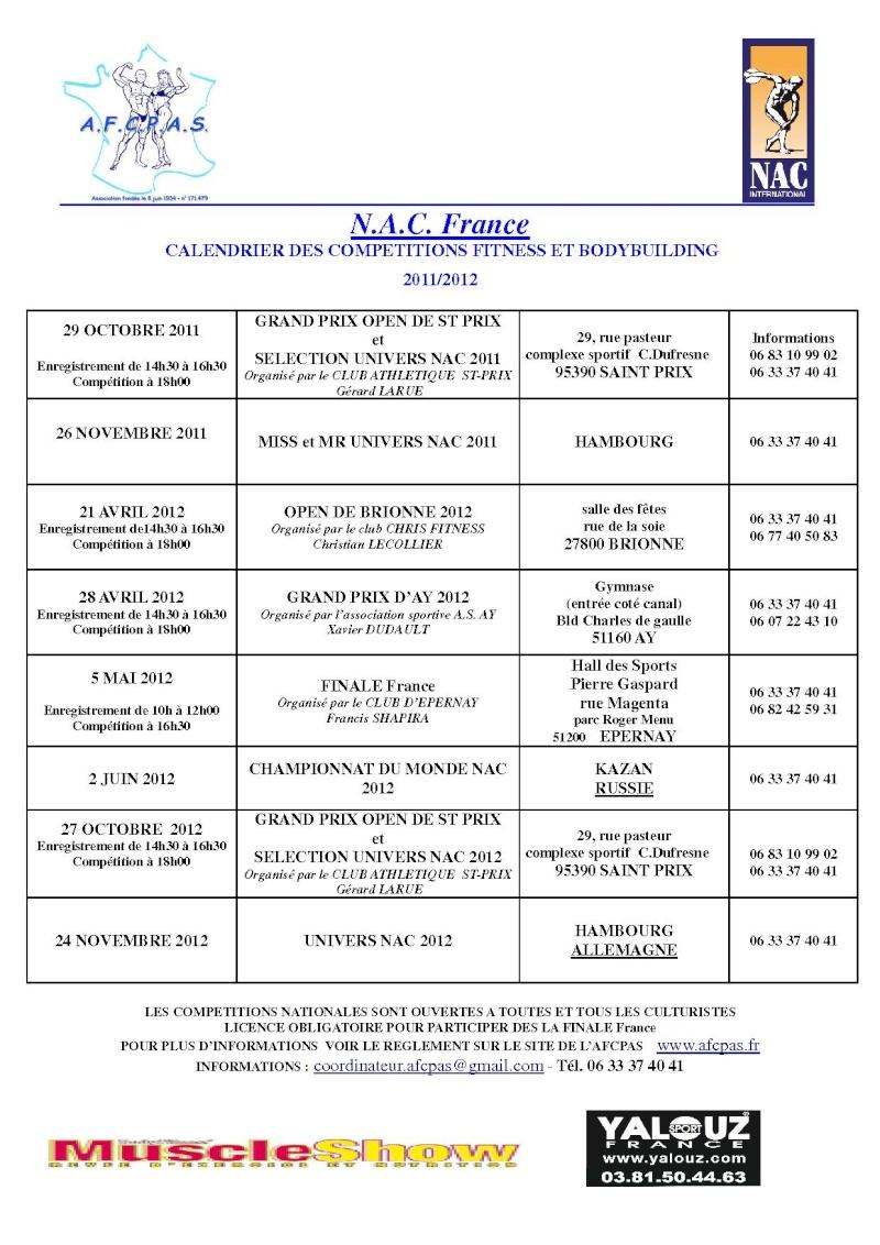 infos AFCPAS Calend13