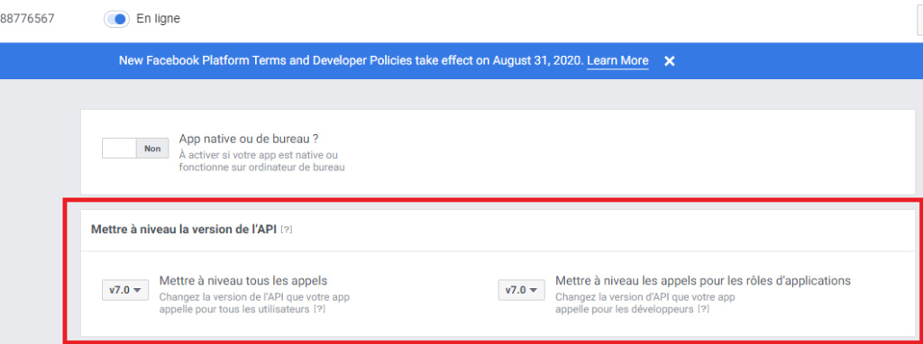 Facebook Connect ne fonctionne plus du tout Appels10
