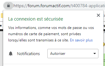 Application web progressive (PWA) disponible sur les forums Forumactif Auto10