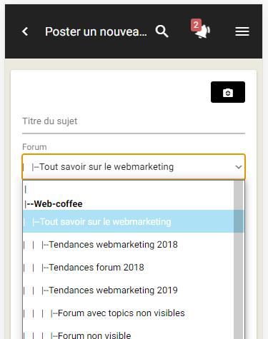 Améliorations de la version mobile : citation, outils de modération, ... New210