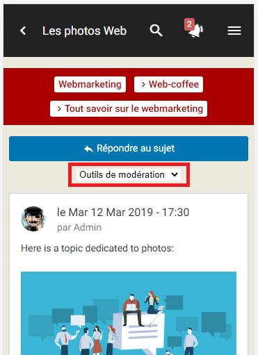 Améliorations de la version mobile : citation, outils de modération, ... Repons10