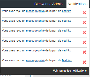 [AWESOMEBB] Impossibilité de suprimer les notifications Supp12
